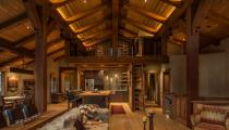 Alpine Mountains Home Interior